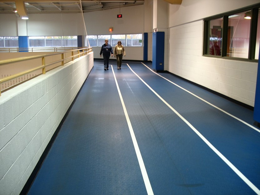 Indoor Walking and Running Track
