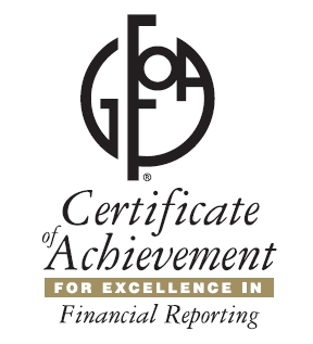 excellence in financial reporting logo